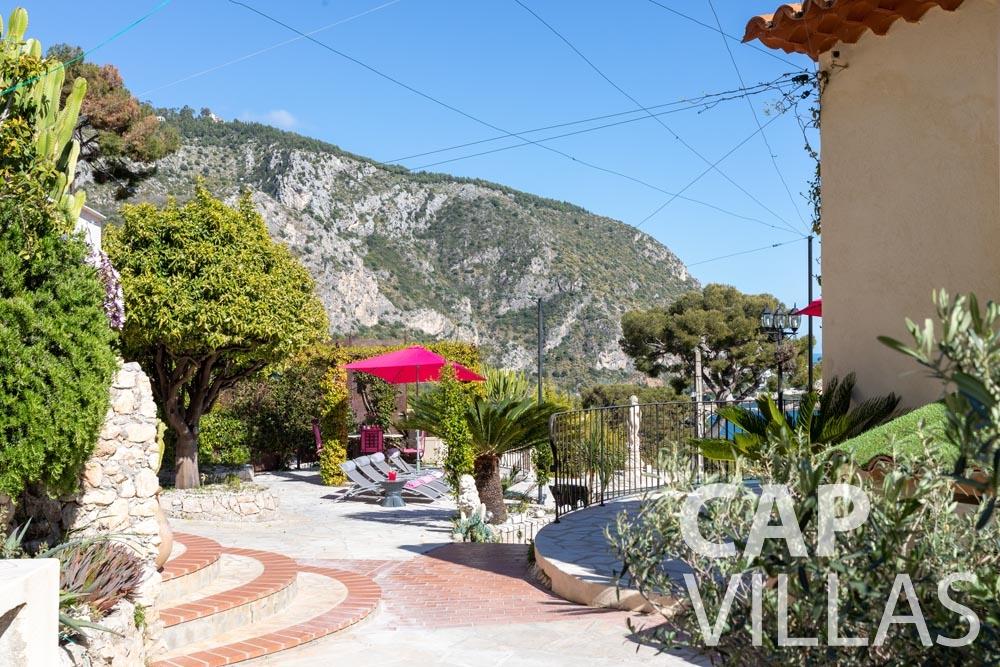 Villa Panarea for rent eze sur mer panarea terrace