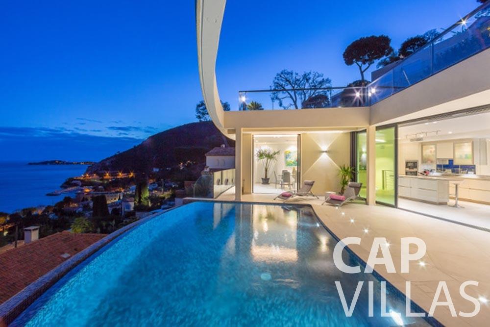 rent Villa Paros eze sur mer paros swimming pool