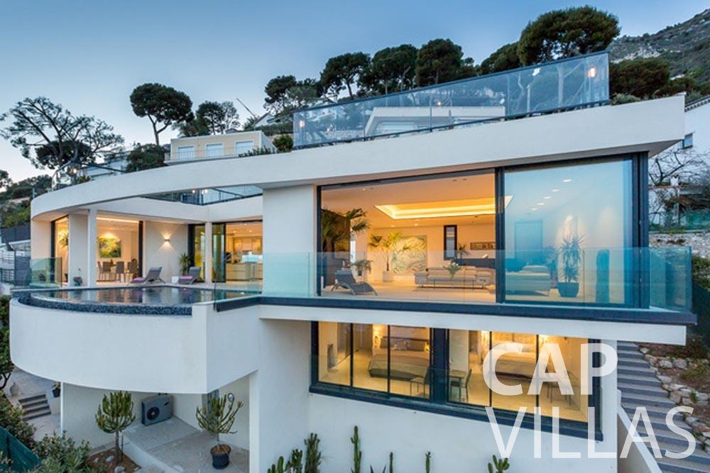 Villa Paros for let eze sur mer paros front