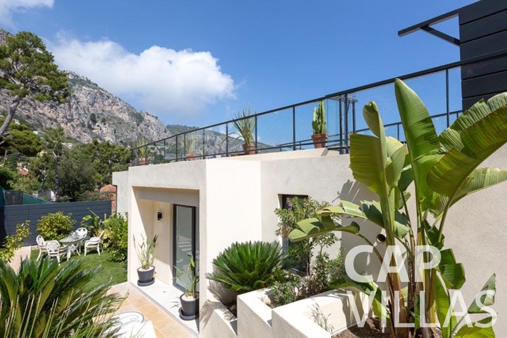 Villa Paros for let eze sur mer paros garden