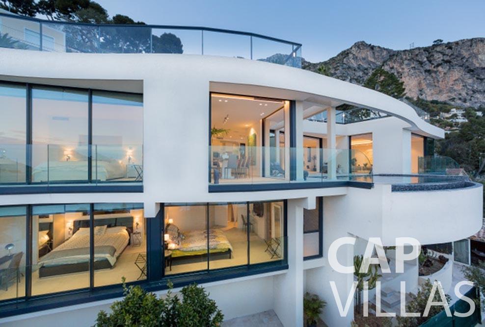 Villa Paros for rent eze sur mer paros front