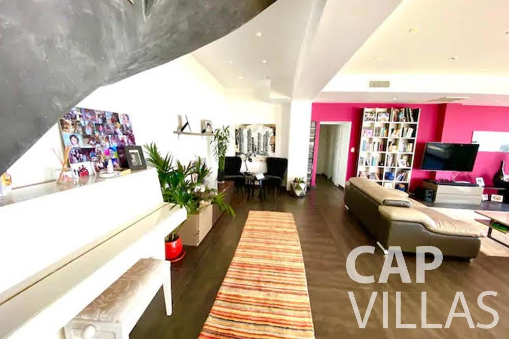 let Villa Romina romina eze living area