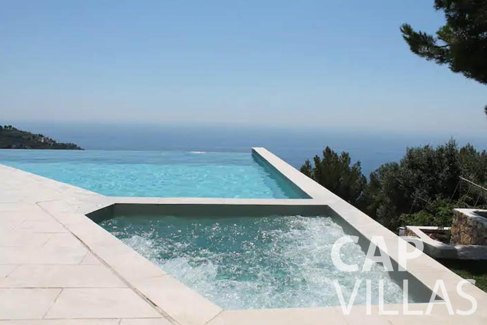 let Villa Romina romina eze swimming pool