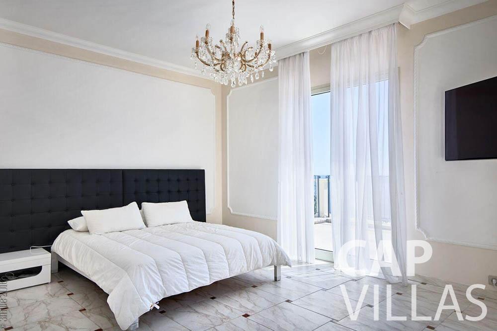 Villa Serena for let eze serena bedroom