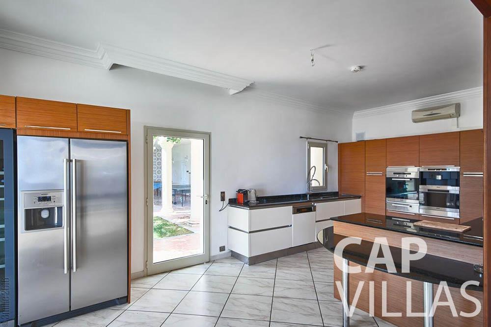 Villa Serena for rent eze serena kitchen