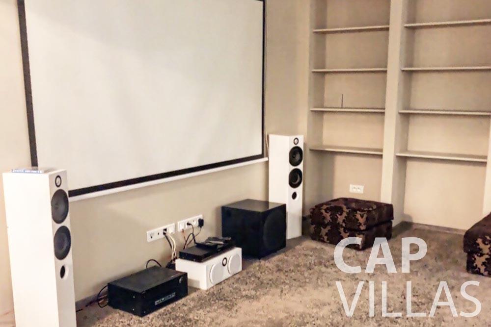 Villa Valéry for let cap de nice valery cinema room home theatre