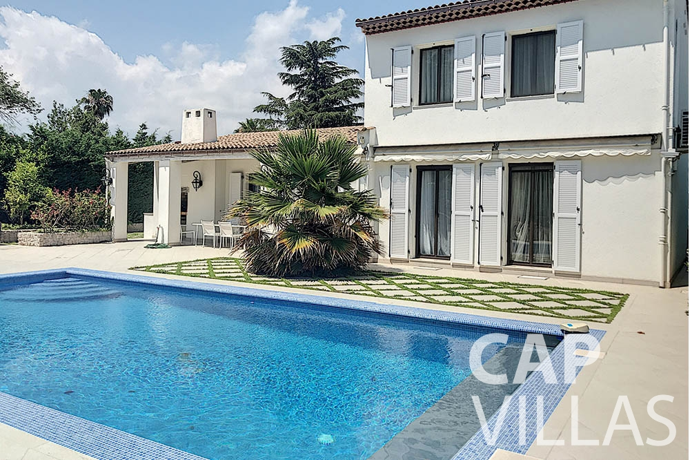Villa Valéry for let cap de nice valery swimming pool