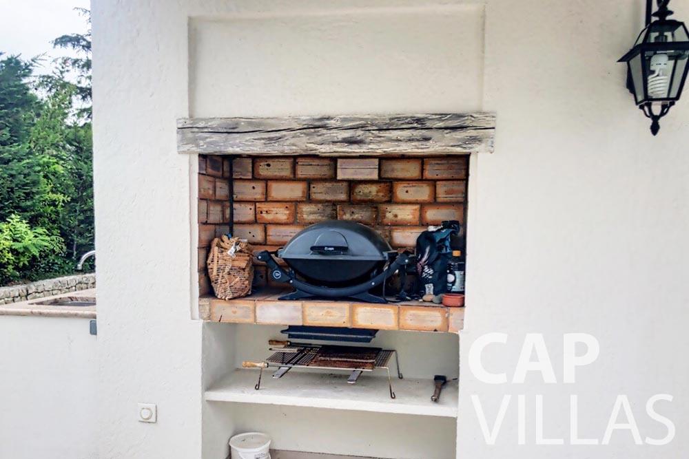 Villa Valéry for rent cap de nice valery bbq
