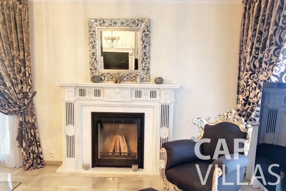 Villa Valéry for rent cap de nice valery chimney