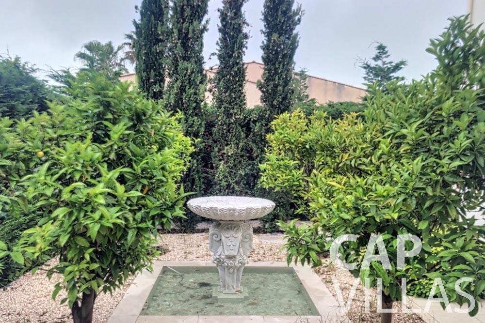 Villa Valéry for rent cap de nice valery fountain
