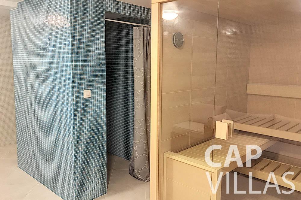 Villa Valéry for rent cap de nice valery sauna