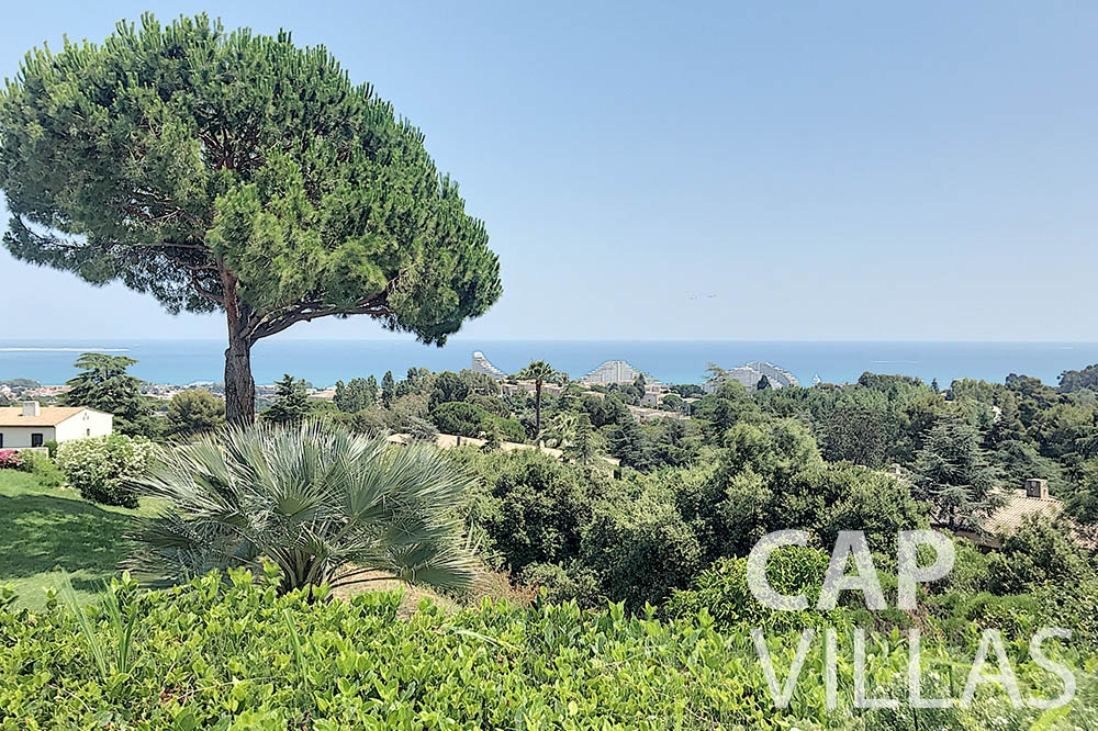 Villa Valéry for rent cap de nice valery sea view