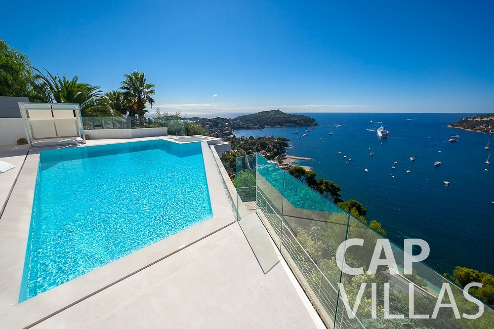 let Villa Marguerita villefranche sea view