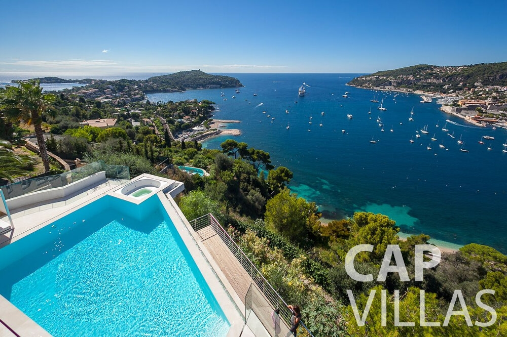 rent Villa Marguerita villefranche sea view