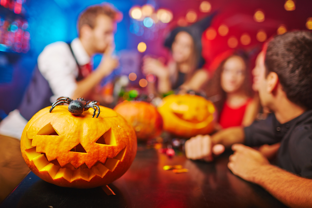 Halloween in Monaco: Buddha Bar, Monte Carlo